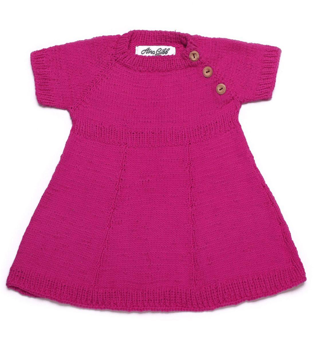 Shortsleeve Cotton Dress 1046 pink