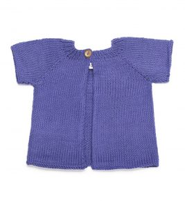 Girls Short Sleeve Cardigan 1061