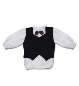 Waistcoat Stylish Merino Wool Jumper 1080