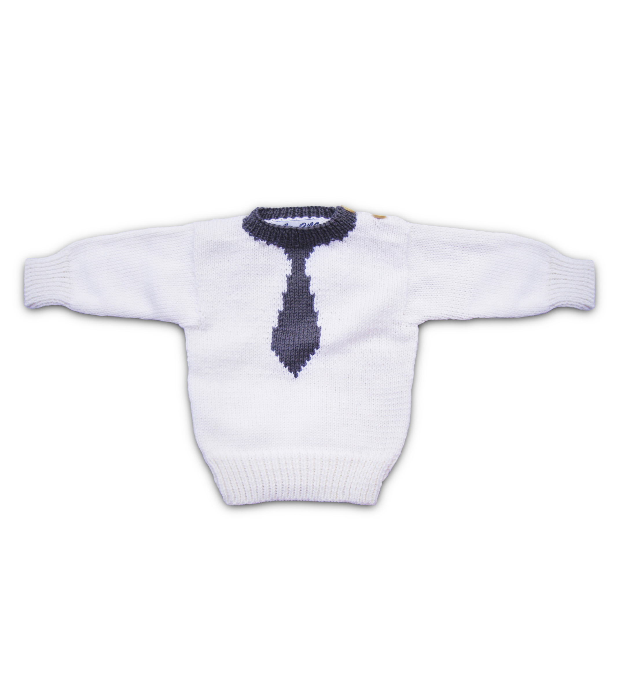 Tie Stylish Merino Wool Jumper