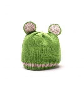 Cute Frog Baby Hat 1051