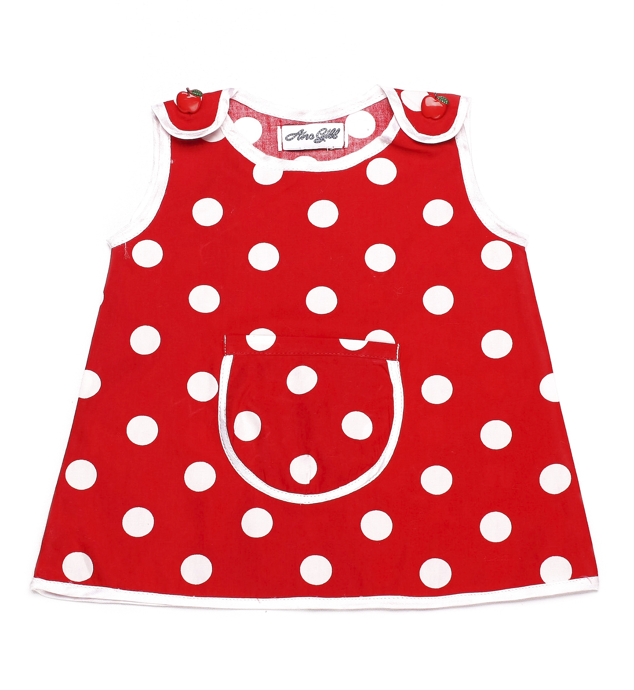 Red polka dot 1058