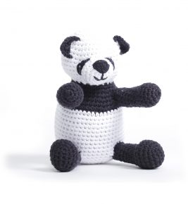 1027 Panda Sweet Rattle Toy