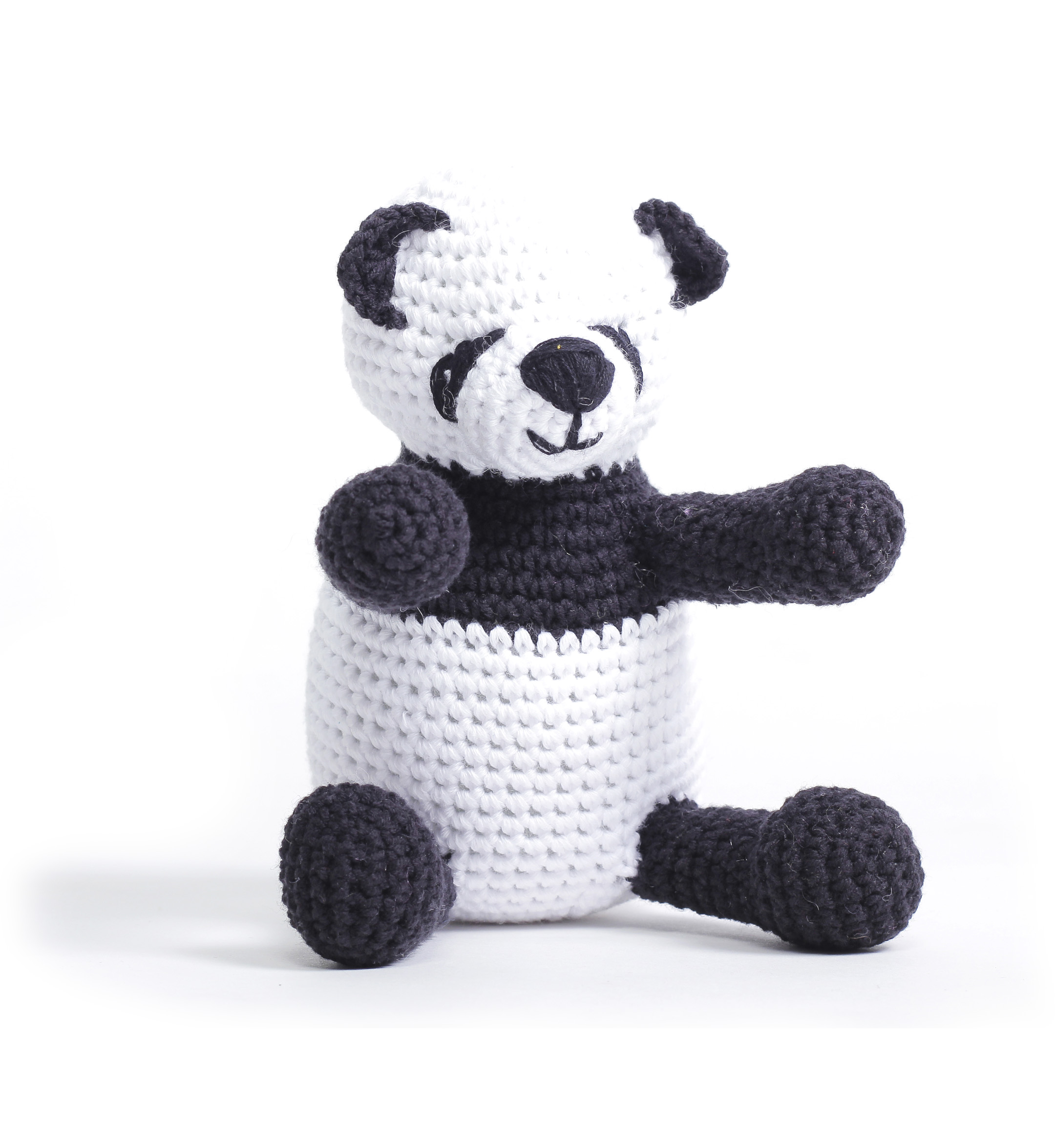1027 Panda Sweet Rattle Toy