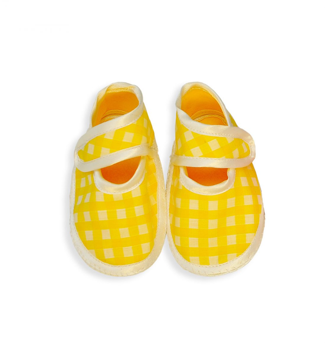 Yellow 1054 Adorable Baby Shoes